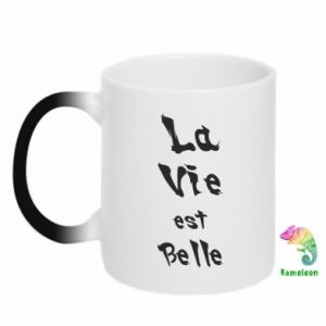Magic mugs La vie est belle