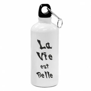 Water bottle La vie est belle