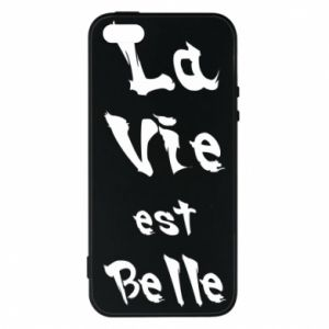 iPhone 5/5S/SE Case La vie est belle