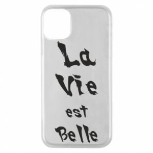 iPhone 11 Pro Case La vie est belle