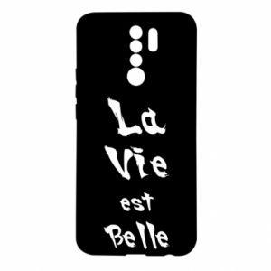 Etui na Xiaomi Redmi 9 La vie est belle