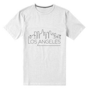 Męska premium koszulka LA - PrintSalon