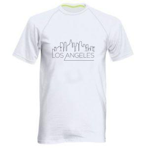 Męska koszulka sportowa LA - PrintSalon