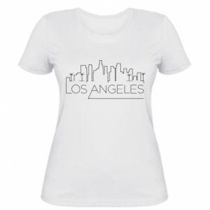 Damska koszulka LA - PrintSalon
