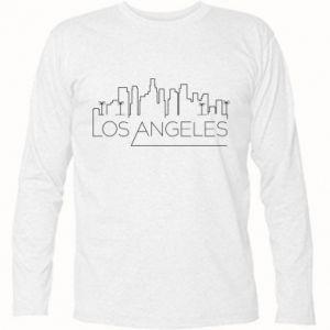 Koszulka z długim rękawem LA - PrintSalon