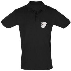 Koszulka Polo Łaciaty kot