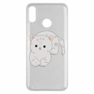 Etui na Huawei Y9 2019 Łaciaty kot