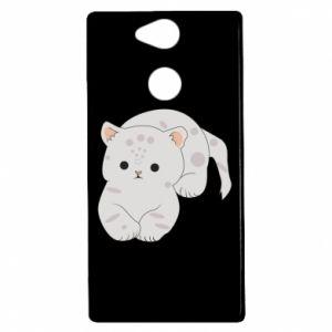 Etui na Sony Xperia XA2 Łaciaty kot