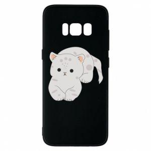 Etui na Samsung S8 Łaciaty kot