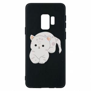 Etui na Samsung S9 Łaciaty kot