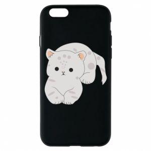 Etui na iPhone 6/6S Łaciaty kot