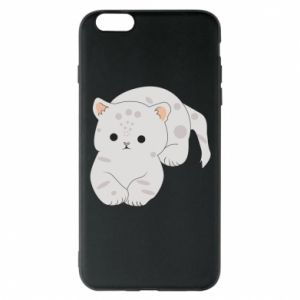 Etui na iPhone 6 Plus/6S Plus Łaciaty kot
