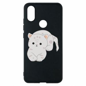 Etui na Xiaomi Mi A2 Łaciaty kot