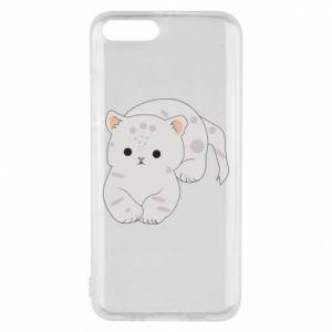 Etui na Xiaomi Mi6 Łaciaty kot