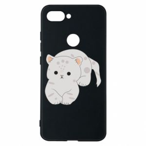 Etui na Xiaomi Mi8 Lite Łaciaty kot