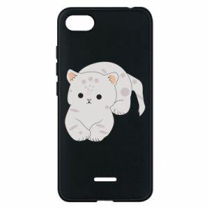 Etui na Xiaomi Redmi 6A Łaciaty kot