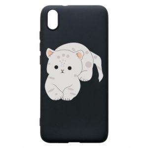 Etui na Xiaomi Redmi 7A Łaciaty kot