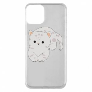 Etui na iPhone 11 Łaciaty kot