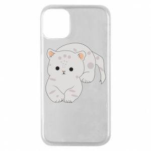 Etui na iPhone 11 Pro Łaciaty kot