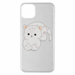 Etui na iPhone 11 Pro Max Łaciaty kot