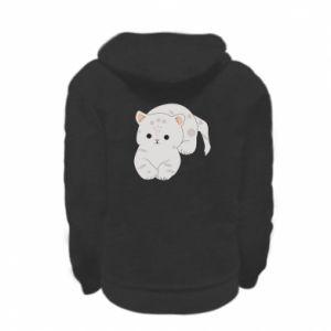 Bluza na zamek dziecięca Łaciaty kot