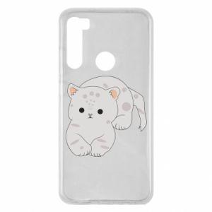 Etui na Xiaomi Redmi Note 8 Łaciaty kot