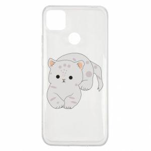 Etui na Xiaomi Redmi 9c Łaciaty kot