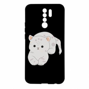 Etui na Xiaomi Redmi 9 Łaciaty kot