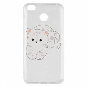 Etui na Xiaomi Redmi 4X Łaciaty kot