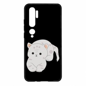 Etui na Xiaomi Mi Note 10 Łaciaty kot