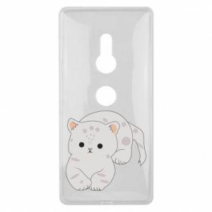 Etui na Sony Xperia XZ2 Łaciaty kot