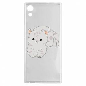 Etui na Sony Xperia XA1 Łaciaty kot