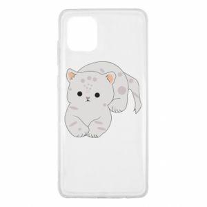 Etui na Samsung Note 10 Lite Łaciaty kot