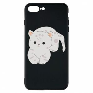 Etui na iPhone 8 Plus Łaciaty kot