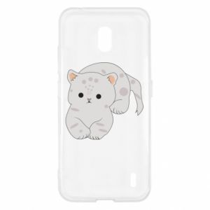 Etui na Nokia 2.2 Łaciaty kot