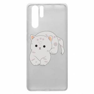 Etui na Huawei P30 Pro Łaciaty kot