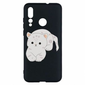 Etui na Huawei Nova 4 Łaciaty kot