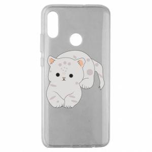Etui na Huawei Honor 10 Lite Łaciaty kot
