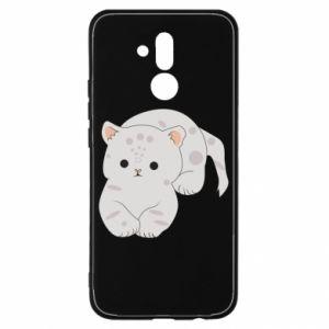 Etui na Huawei Mate 20 Lite Łaciaty kot