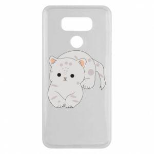Etui na LG G6 Łaciaty kot