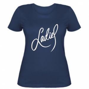 Damska koszulka Ladies