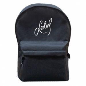 Plecak z przednią kieszenią Ladies