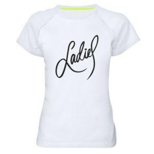 Damska koszulka sportowa Ladies