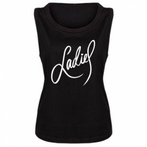 Damska koszulka bez rękawów Ladies