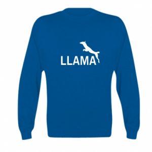 Bluza dziecięca Lama is jumping