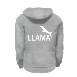 Bluza na zamek dziecięca Lama is jumping