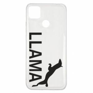 Etui na Xiaomi Redmi 9c Lama is jumping