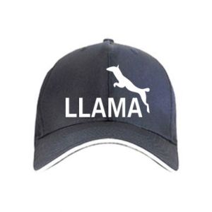 Czapka Lama is jumping