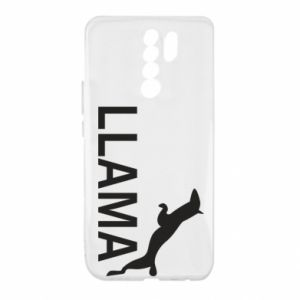 Etui na Xiaomi Redmi 9 Lama is jumping