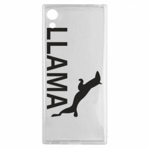 Etui na Sony Xperia XA1 Lama is jumping